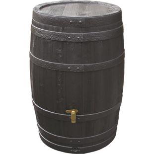 4rain Vino-Regenfass 250 L dkl.braun m.Deckel - Bild 1