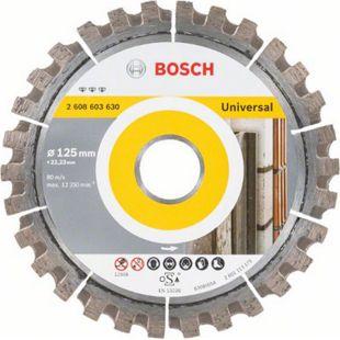"""Bosch Diamanttrennscheibe """"Best for Universal"""" 125 x 22,23 mm  2608603630 - Bild 1"""