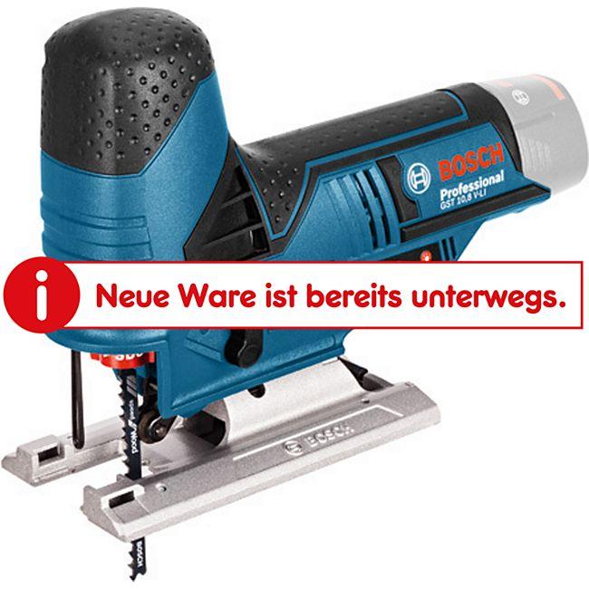 """Bosch Akku Stichsäge GST 10,8 V-LI """"Clic-Solo"""" L-Boxx  06015A1002 - Bild 1"""