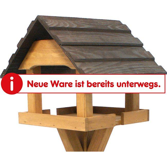 Gardissimo Vogelhaus 39x39x34cm Kiefer/Eichenoptik - Bild 1