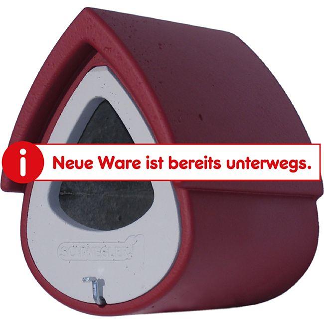 Schwegler Halbhöhle 2MR, rot/grau - Bild 1