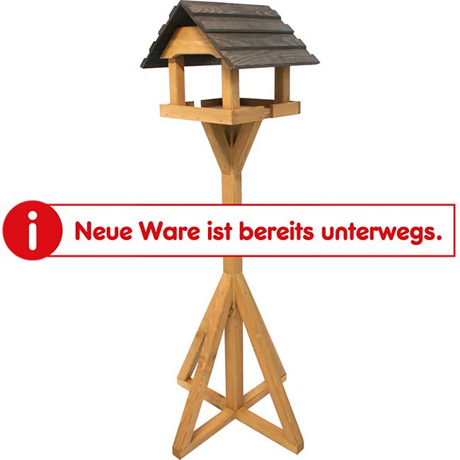 Gardissimo Vogelhaus mit Ständer 39x39x34cm - Bild 1