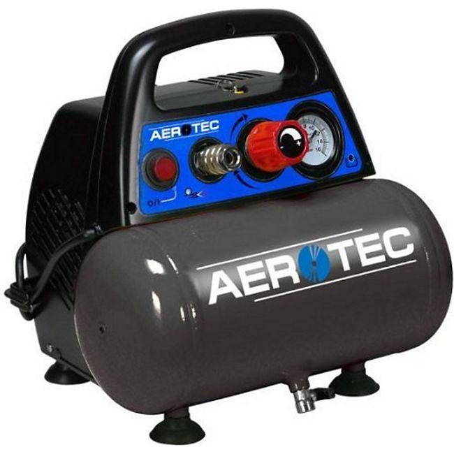 Aerotec Kompressor tragbar-ölfrei Airliner 6 8 bar-230 Volt 200664 - Bild 1