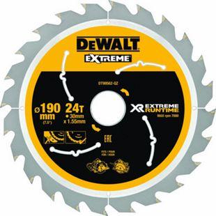 Dewalt DT99562 XR Extreme Runtime Kreissaegeblatt Handkr. 190/30mm 24WZ/FZ DT99562-QZ - Bild 1