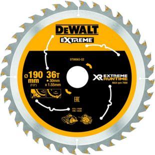 Dewalt DT99563 XR Extreme Runtime Kreissaegeblatt Handkr. 190/30mm 36WZ/FZ DT99563-QZ - Bild 1