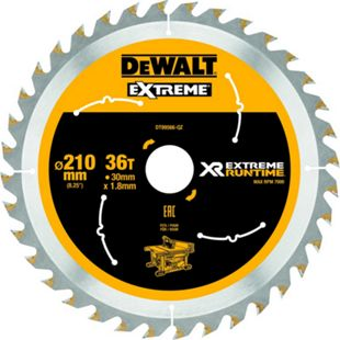 Dewalt DT99566 XR Extreme Runtime Kreissaegeblatt stat. 210/30mm 36WZ/FZ DT99566-QZ - Bild 1