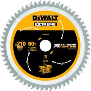 Dewalt DT99567 XR Extreme Runtime Kreissaegeblatt stat. 210/30mm 60WZ/FZ DT99567-QZ - Bild 1