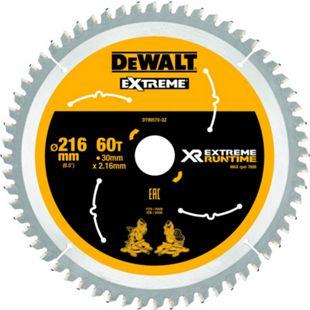 Dewalt DT99570 XR Extreme Runtime Kreissaegeblatt stat. 216/30mm 60WZ/FZ DT99570-QZ - Bild 1