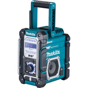 Makita Akku-Baustellenradio 7,2V-18V (Solo) DMR 112 - DAB/DAB+/FM & Bluetooth - Bild 1
