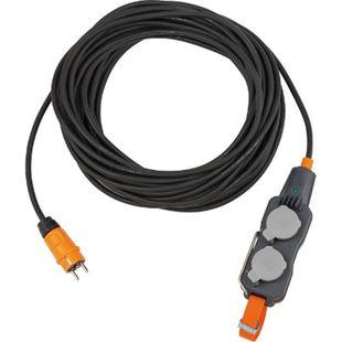 Brennenstuhl Powerblock 4-fach 9161150160 IP54 mit 15 m Verlängerungskabel H07RN-F 3G1,5 - Bild 1
