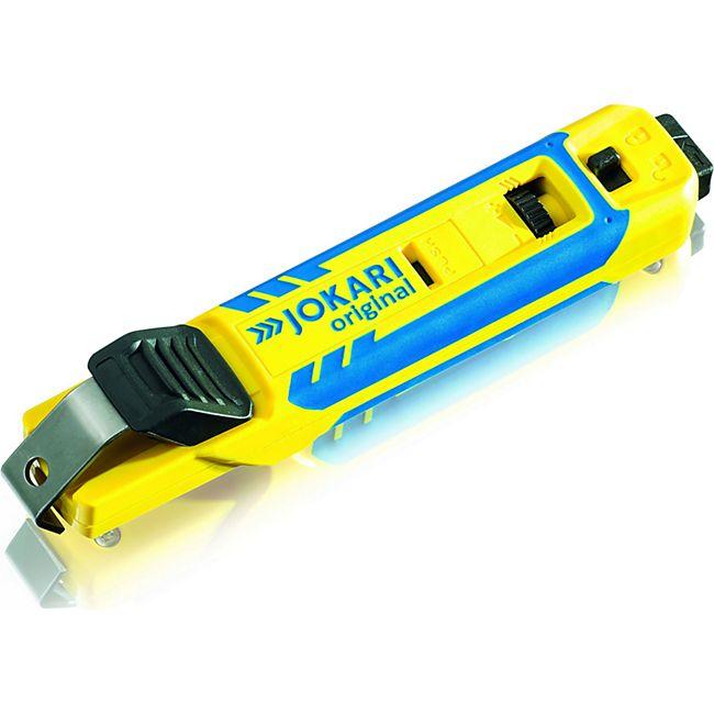 Jokari Kabelmesser mit Wechselbügelsystem für Rundkabel 4-70mm 70000 - Bild 1