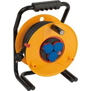 Brennenstuhl BrobustaBretec BGI608 Gewerbe-BaustellenKabeltrommel 40m H07RN-F 3G1,5 1312500 - Bild 1