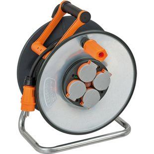Brennenstuhl professionalLINE SteelCore Kabeltrommel BGI608 25m H07RN-F 3G1,5 9191250100 - Bild 1