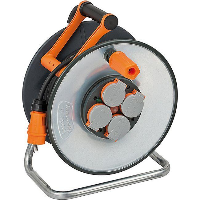Brennenstuhl professionalLINE SteelCore Kabeltrommel BGI608 40m H07RN-F 3G1,5  9191400100 - Bild 1