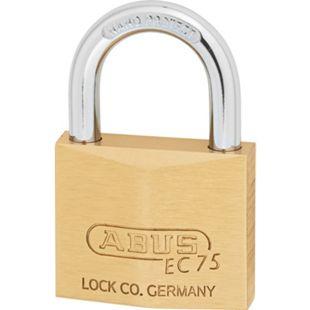 Abus Vorhangschloss Nr. 75/50 mit Wendeschlüssel mit 2 Schlüssel  75/50 - Bild 1