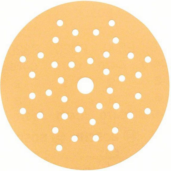 "Bosch Klett-Schleifblatt C470 ""Multilochung""125 mm K180 PACK= 5 Stück  2608608X76 - Bild 1"