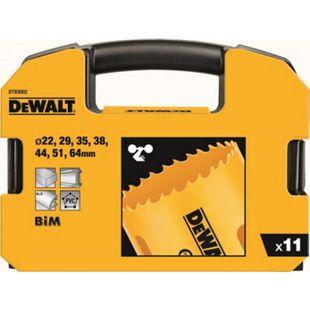 Dewalt HSS-Bi-Metall Lochsägen-Set DT 83002 11-teilig 22- 64 mm DT83002-QZ - Bild 1