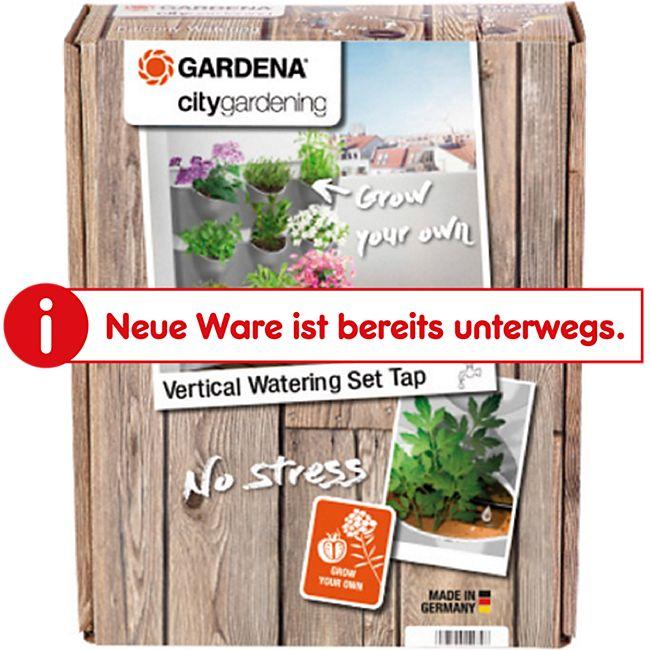 Gardena 13156-20 NatureUp! Bewässerungsset Vertikal Wasserhahn - Bild 1