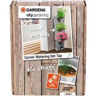 Gardena 13157-20 NatureUp! Bewässerungsset Ecke Wasserhahn - Bild 1