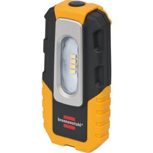 Brennenstuhl 4 LED Akku-Handleuchte / HL DA 40 MH 220lm, Haken, Magnet, Clip, 1176440 - Bild 1