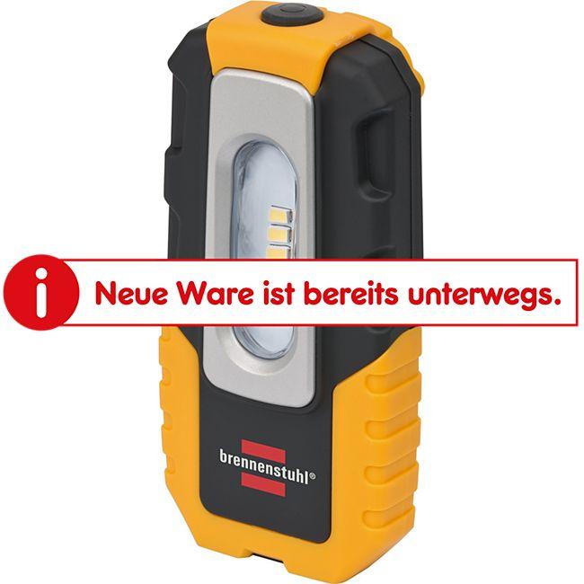 Brennenstuhl 4 LED Akku Handleuchte / HL DA 40 MH 220lm Haken Magnet Clip  1176440 - Bild 1