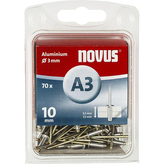 Novus Blindniete A 3 X 10 ALU 70ST  045-0030 - Bild 1