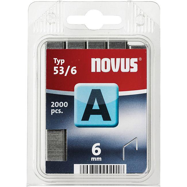 Novus Klammer A 53/6 mm 2000 STK  042-0355 - Bild 1