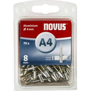 Novus Blindniete A 4 X 8 ALU 70ST  045-0032 - Bild 1