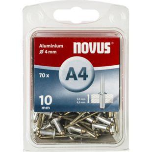 Novus Blindniete A 4 X 10 ALU 70ST  045-0033 - Bild 1