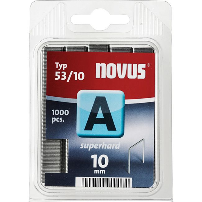 Novus Klammer A 53/10 mm 1000 STK  042-0357 - Bild 1