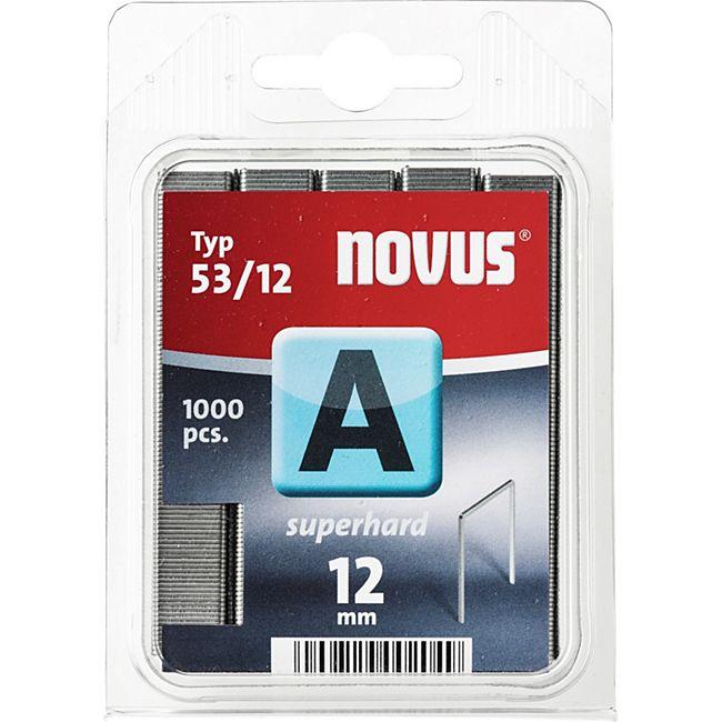 Novus Klammer A 53/12 mm 1000 STK  042-0358 - Bild 1