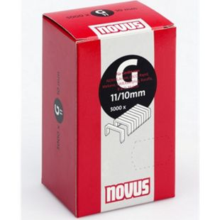 Novus Klammer G 11/10 mm 5000 Stk. 042-0529 - Bild 1