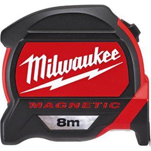Milwaukee Premium-Bandmaß magnetisch 8 Meter - Bild 1