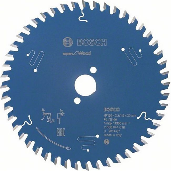 Bosch Kreissägeblatt Expert for Wood 160x20x2,2/1,6mm Z48  2608644018 - Bild 1