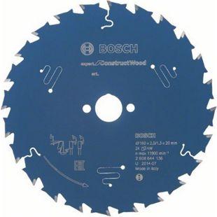 Bosch Kreissägeblatt Comstruct Wood 160x20x2,0/1,3mm Z24  2608644136 - Bild 1