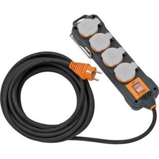 Brennenstuhl professionalLINE Steckdosenblock 230V IP54 4 Steckdosen 3G1,5 9151480100 - Bild 1