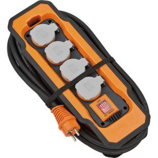 Brennenstuhl professionalLINE Steckdosenblock 230V IP54 4 Steckdosen 3G2,5 - Bild 1