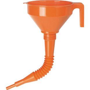 Pressol Kunststoff-Trichter mit flexiblen Auslauf 160 mm 02 674 - Bild 1