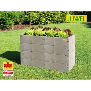 Juwel Hochbeet Timber 130x60x80 cm, 4er-Set - Bild 1