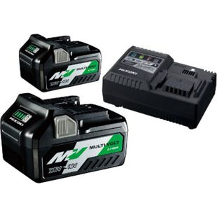 HiKOKI Booster Pack 2x BSL36A18+UC18YSL3 36V2,5AH /18V 5,0AH UC18YSL3WEZ - Bild 1