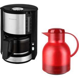 Krups Kaffeeautomat PRO AROMA Plus + Isolierkanne Samba - Bild 1