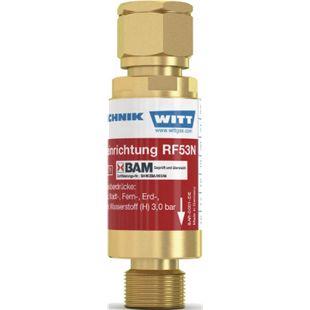 Witt Sicherheitseinrichtung - Sauerstoff TYP RF 53 N G 1/4Zoll RH  145021 - Bild 1