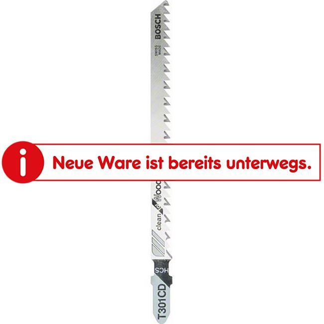 Bosch Stichsägeblätter T 301 CD Pak.= 5 Stück 2 608 637 590 - Bild 1