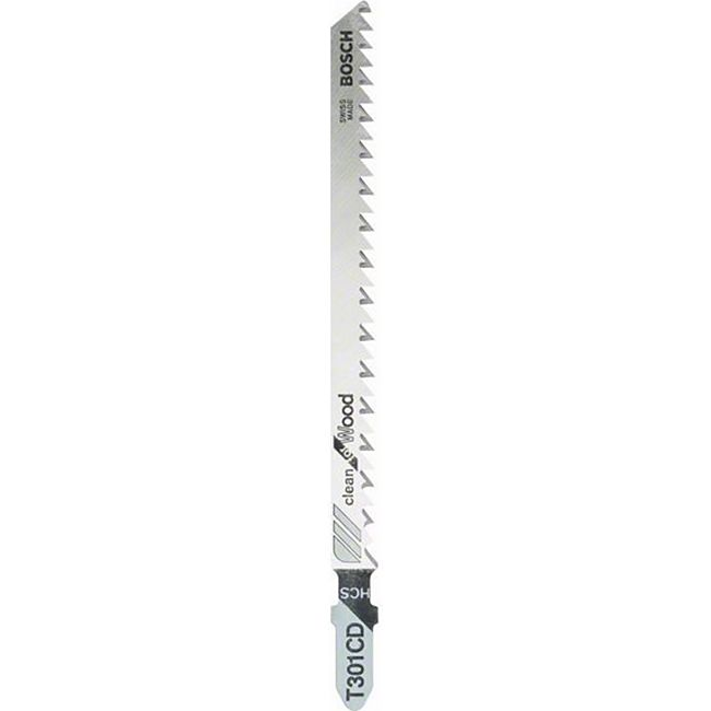 Bosch Stichsägeblätter T 301 CD PACK= 5 Stück  2608637590 - Bild 1