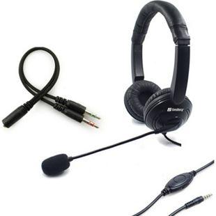 SANDBERG MiniJack Headset Schoner - Bild 1