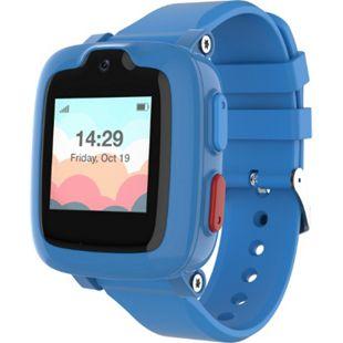 MYFIRST Fone S2 Kinder Smartwatch | Telefon Uhr | Video Anrufe | SIM Karten frei | Schulmodus | SOS-Funktion | Geo Fencing mit GPS Ortung | Schrittzähler | blau - Bild 1
