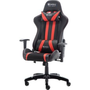 Sandberg Commander Gaming Chair Blk/Red - Bild 1