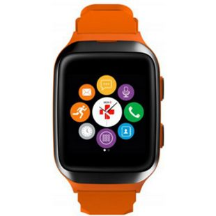 MYKRONOZ Smartwatch ZeSplash2 orange-schwarz - Bild 1