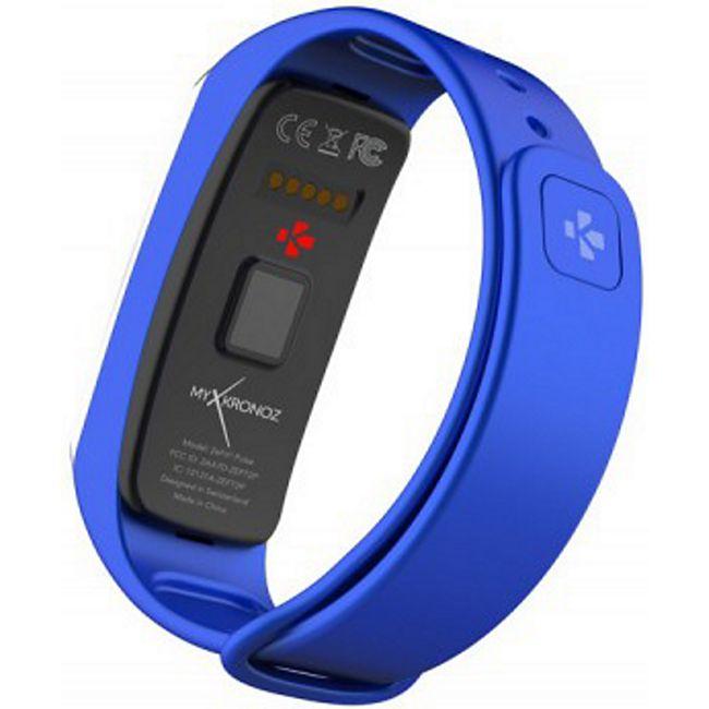 MYKRONOZ ZeFit2 Pulse Activity Tracker blau-silber - Bild 1