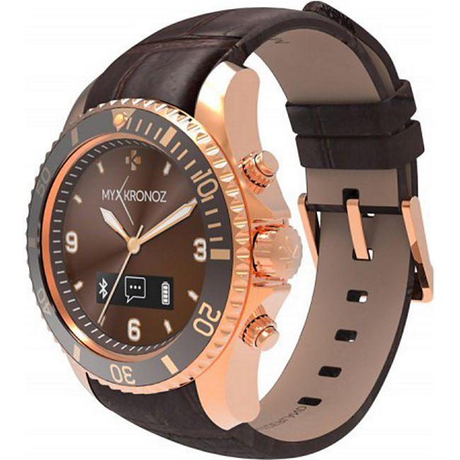 MYKRONOZ ZeClock Premium Smartwatch Pink Gold - Bild 1